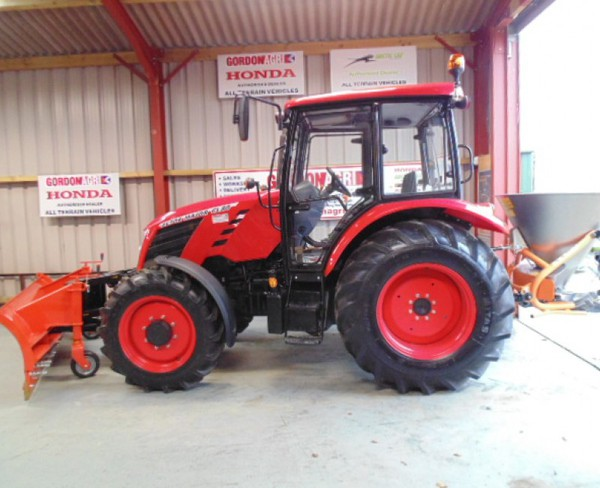 Zetor Major 80CL 4WD, fitted with DW Tomlin Snow Plough & Salt Spreader