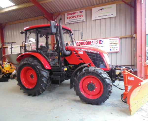 Zetor Major 80CL 4WD Tractor, fitted with DW Tomlin Snow Plough & Salt Spreader