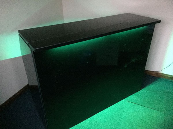 Jet Black LED Event Bar