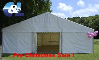6m Framed marquee for sale