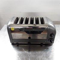 Used Dualit 60156 6 Slot Toaster