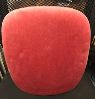 Pink seat pads for Cheltenham, banqueting, chivari, camelot, cross, backed, Napoleon chairs