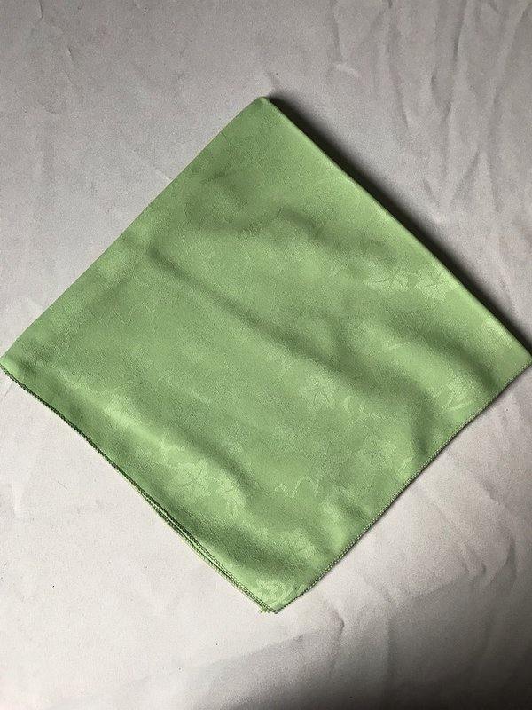 Apple Green Square Napkins