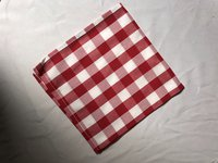 Red & White Gingham Square Napkins