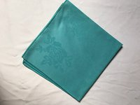 Aqua Blue Square Napkins