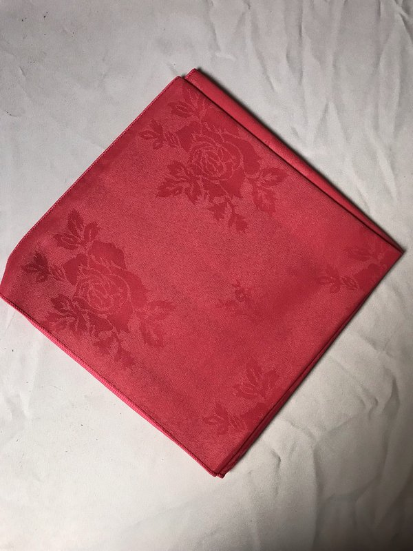 Tomato Red Square Napkins