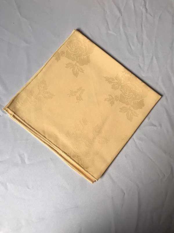 Yellow Square Napkins