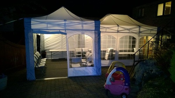 Party marquee hire bussiness