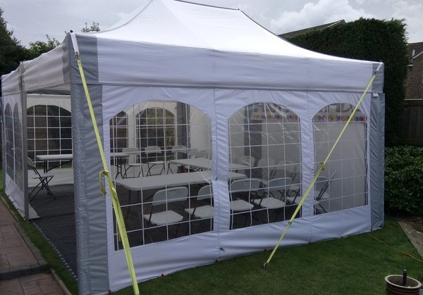 small party marquee hire