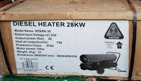 Diesel space heaters