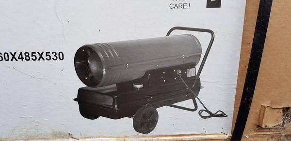 Diesel marquee heater
