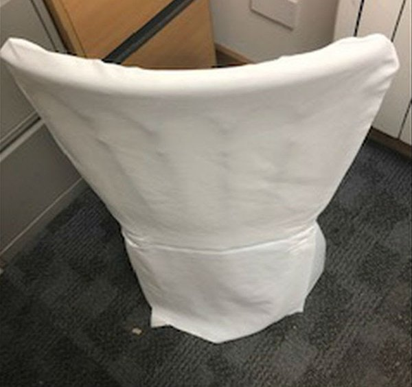 White chair cover for sale