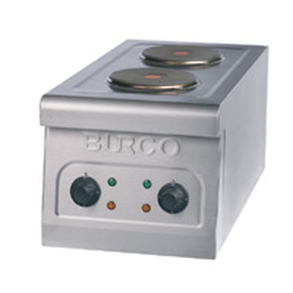 Burco two ring hob