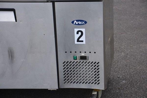 ATOSA 880L Triple Door Fridge MPF8203