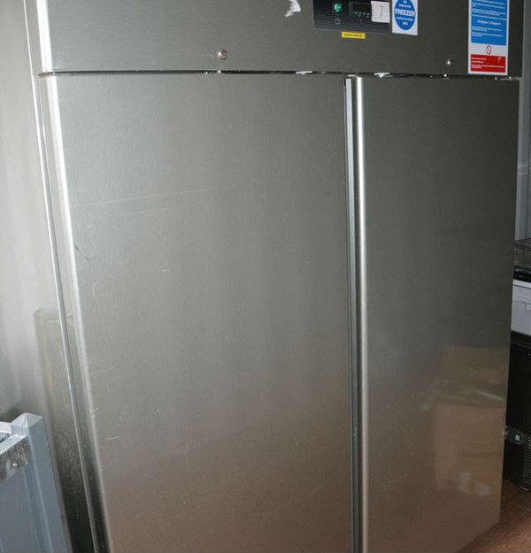 Double upright catering fridge for sale
