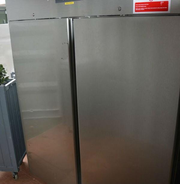 Upright double fridge