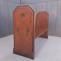 Victorian pews for sale