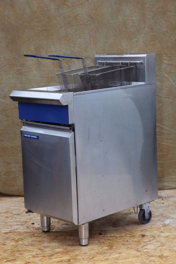 Twin tank LPG used fryer