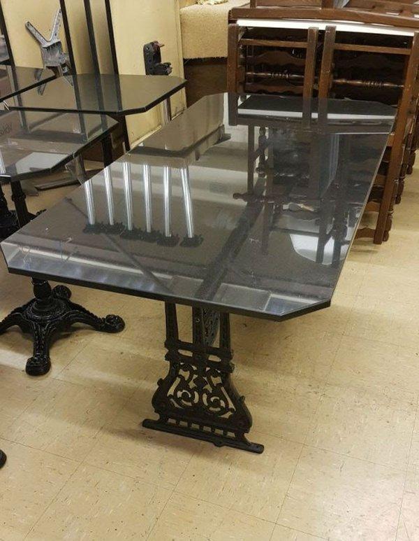 Granite cafe tables Derbyshire