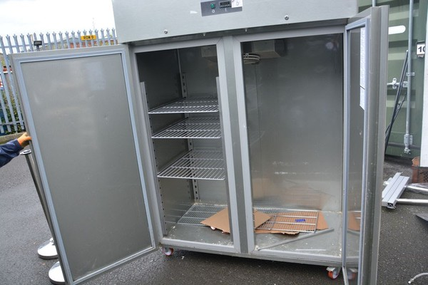 Secondhand upright fridge