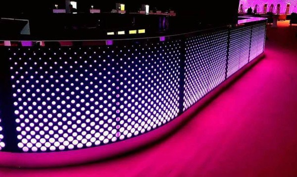 Rustic LED bar