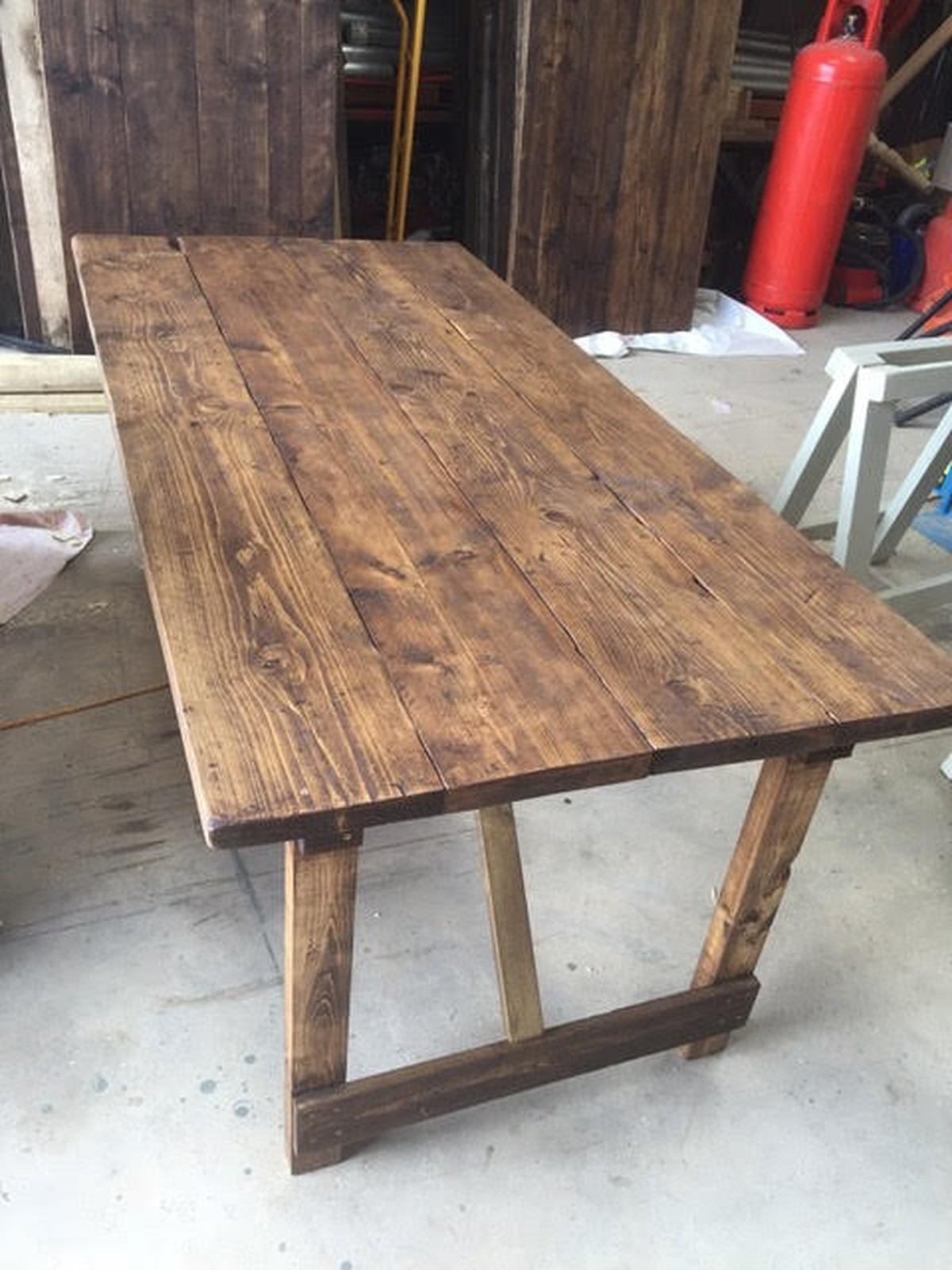 Secondhand Chairs And Tables Trestle Tables Rustic