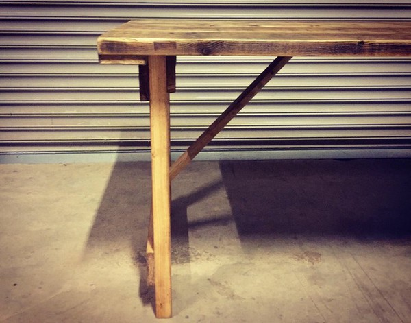 Rustic Reclaimed Wooden Tables
