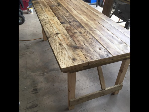 Selling Rustic Reclaimed Wooden Tables