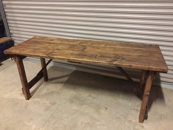 Vintage Rustic Reclaimed Wooden Tables