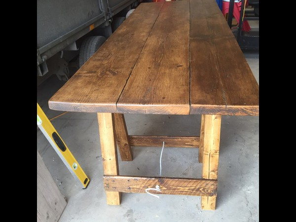 Rustic Tables - Trestle or Folding Legs - Lancashire 10