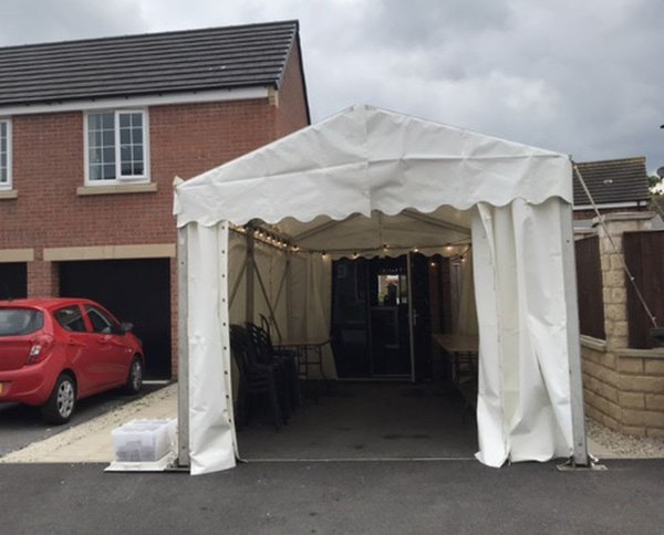 Roder marquee for sale