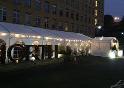 Used 6m x 18m Roder Marquee