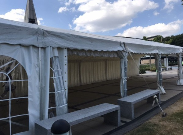 Secondhand6m x 18m Roder Marquee for sale