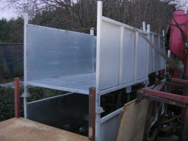 Used Heavy Duty Steel Stillage