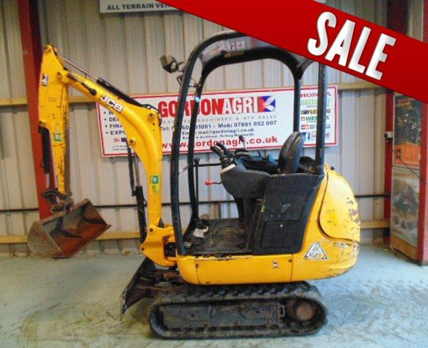 Secnodhand JCB 8014 Mini Excavator