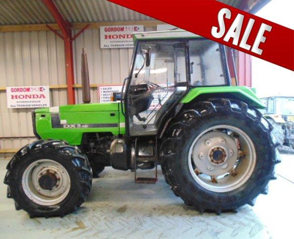Deutz Fahr DX 3.90 4WD Tractor