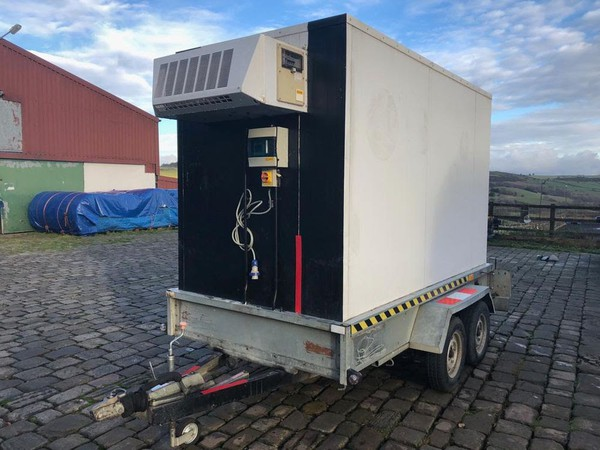 Freezer trailer for sale