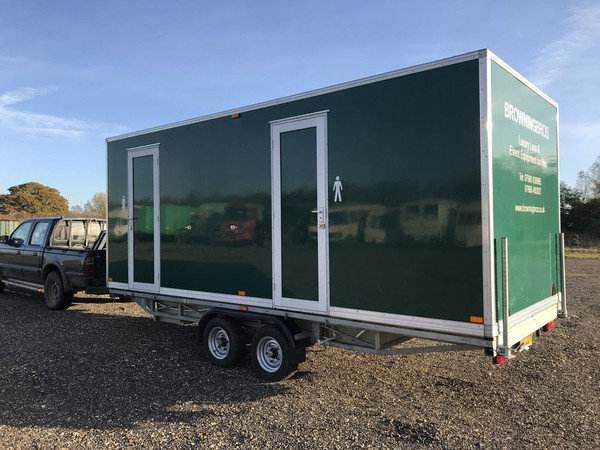 3 + 1 Luxury toilet trailer