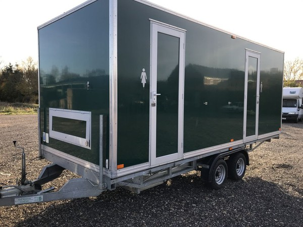 Used toilet trailer