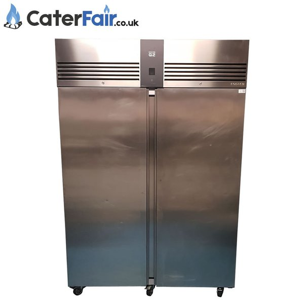 Two door upright fridge for sale