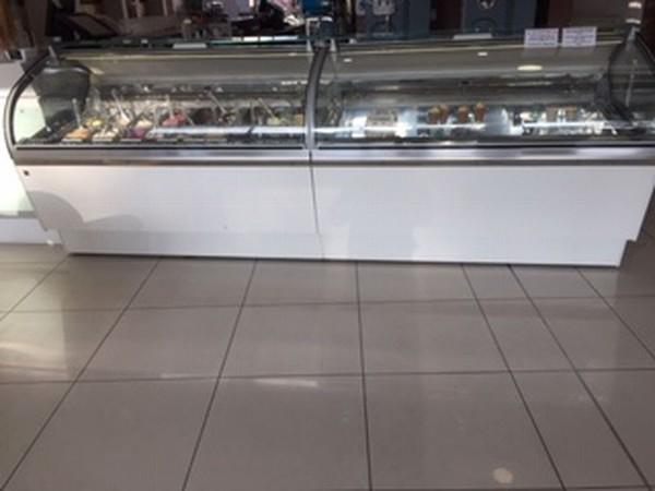 Pair of Ifi Lunette Gelato Ice Cream Display Cabinets