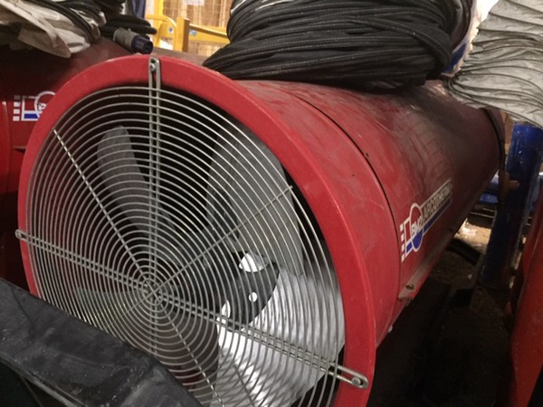 Secondhand indirect marquee heater