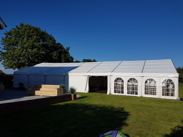 Clear span marquee for sale