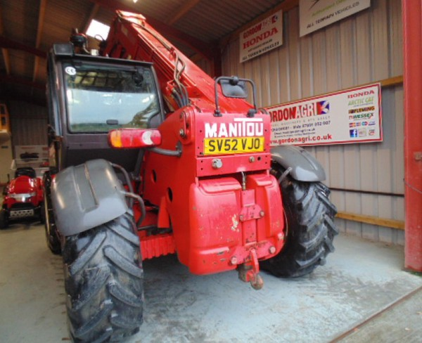 Manitou Manireach, MLT633-120LS For Sale