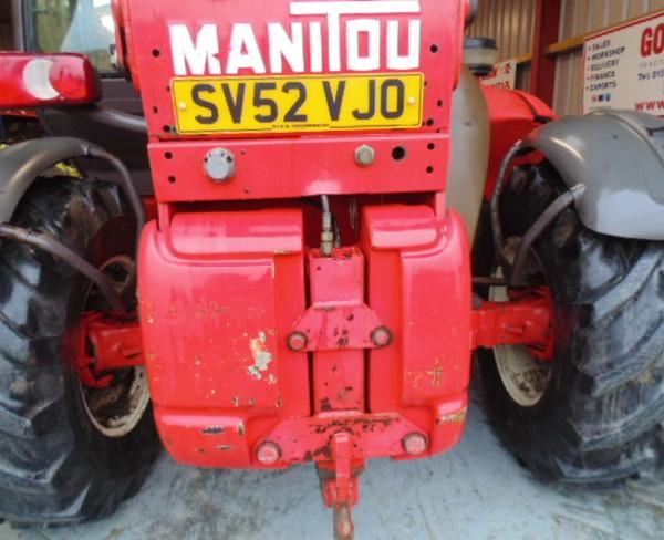 Selling Used Manitou Manireach, MLT633-120LS