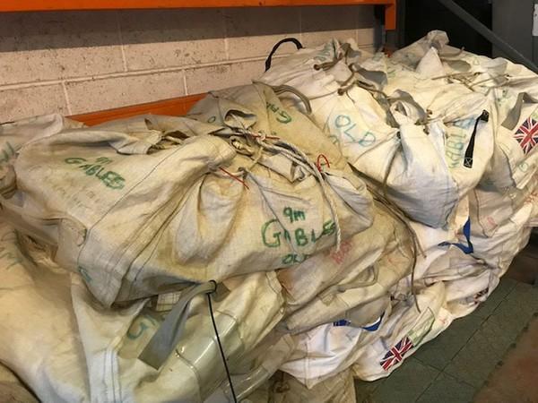 Used storage bags