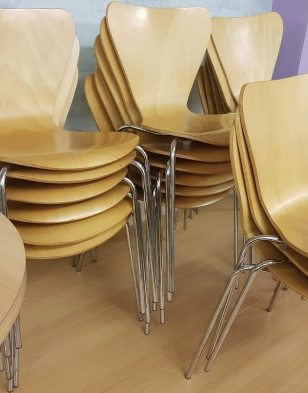 Cafe tables and chairs
