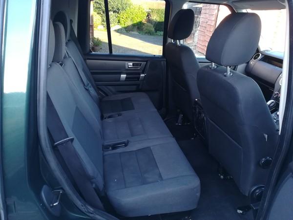 Rear seat van conversion