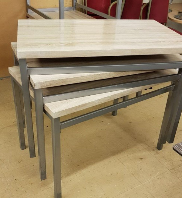 Secondhand laminate tables