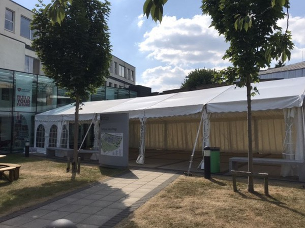 Secondhand Roder marquee